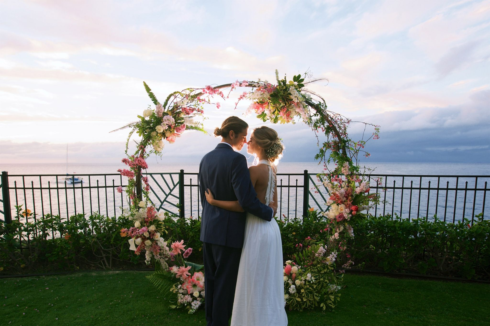 Sheraton Maui Resort & Spa - Moana Lawn Wedding